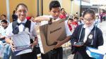 Surquillo: regalan lap top y tablet a escolares más destacados - Noticias de luis huamani