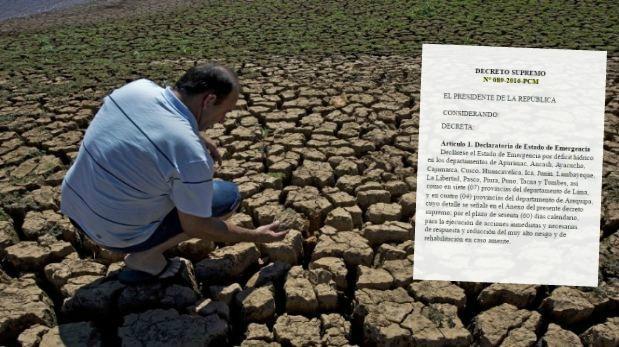 Los tres impactos de la escasez de agua en la economía peruana