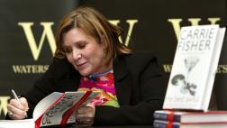 Carrie Fisher y su poco conocida faceta como escritora