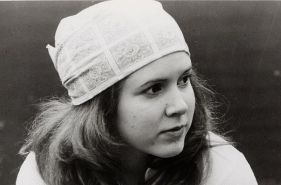 Carrie Fisher y sus roles fuera de la saga