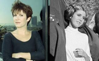 Carrie Fisher vs la princesa Leia