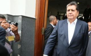 """García: """"Congreso hace bien con comisión de caso brasileño"""""""