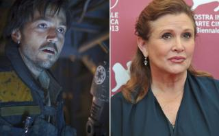 """Rogue One"" lidera la taquilla tras muerte de Carrie Fisher"