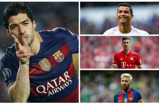 Descubre a los 10 máximos goleadores del 2016, según la IFFHS