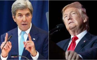 La respuesta de John Kerry a Donald Trump sobre Israel