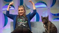 Carrie Fisher: ¿Quién cuidará ahora de Gary, su mascota?