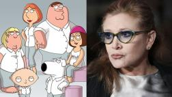 """Family Guy"" tendrá 2 episodios más con voz de Carrie Fisher"