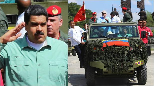 Maduro pide a la Fanb
