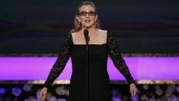Carrie Fisher halló su mejor material en sus propios problemas