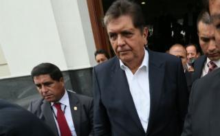 """García sobre Odebrecht: """"Responderé a cuanto se me pregunte"""""""