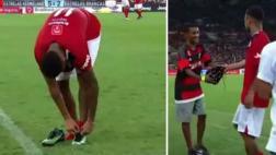 Neymar tuvo noble gesto y regaló botines a hincha del Flamengo