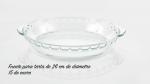 Fuentes de horno, 8 recipientes de vidrio de borosilicato - Noticias de pasaje acuna