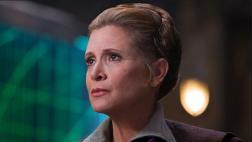 "Carrie Fisher reaparece en escena eliminada de ""Episodio 7"""