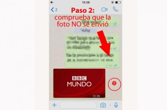 [BBC] Cómo cancelar el envío de videos y fotos por WhatsApp