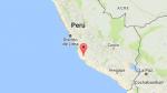 Sismo de 4,1 grados se registró en Ica esta mañana - Noticias de provincia de caylloma