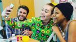 Miley Cyrus y Liam Hemsworth visitaron hospital infantil - Noticias de liam hemsworth
