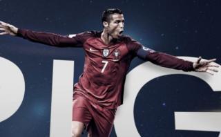 Cristiano Ronaldo luce sus logros del 2016 con imagen de 360°