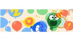 Google celebra el Año Nuevo 2017 con un doodle lleno de globos