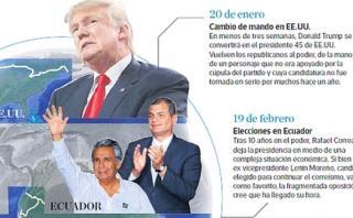 Calendario político 2017: Un año de elecciones claves