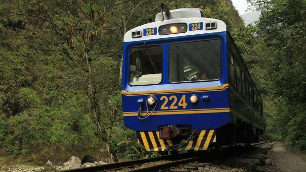 Machu Picchu: suspenden servicio de trenes en vía Cusco-Poroy