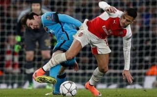 Messi: comparan a Alexis Sánchez con la 'Pulga' en Inglaterra