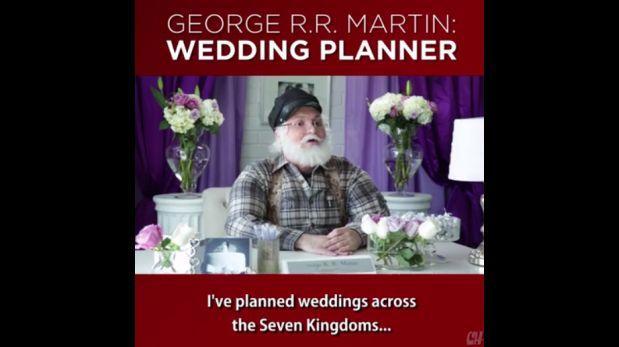 """Facebook: ¿así planeó una boda el creador de """"Game of Thrones""""?"""