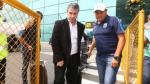 Alianza: Bengoechea llegó a Lima y evitó hablar con prensa - Noticias de juan diego li