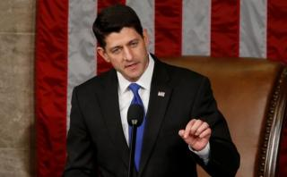 Paul Ryan es reelegido presidente de Cámara de Representantes