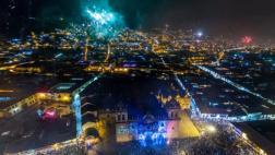Facebook: así se vivió la fiesta de Año Nuevo en Cusco