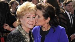 Carrie Fisher y Debbie Reynolds en funeral conjunto e íntimo