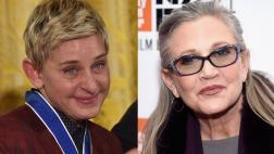 "Ellen DeGeneres: ""Carrie Fisher era brillante y honesta"""