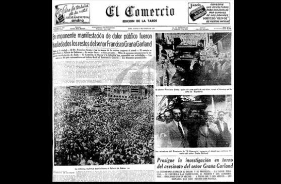 A 70 años del asesinato de Francisco Graña Garland