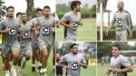 Universitario entrenó en Campomar con Juan Manuel Vargas - Noticias de alberto tejada