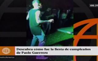 Paolo Guerrero: así celebró su cumpleaños el 'Depredador'