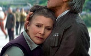"""Revelan posibles escenas de Carrie Fisher en """"Episodio IX"""""""