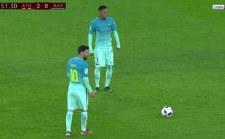 Lionel Messi y el gol de tiro libre que generó polémica