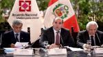 """""""Los peruanos esperan hechos concretos contra la corrupción"""" - Noticias de carlos sanchez"""