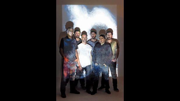 Gustavo Ugarteche, Richard Gutiérrez, Santiago Pillado-Matheu, Alejandro Wangeman, Fernando Salomón y Alonso del Carpio, actuales integrantes de la banda. (Foto: Lara Pillado-Matheu)