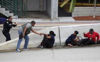 """Fort Lauderdale: """"Pensé que era mi último día de vida"""""""