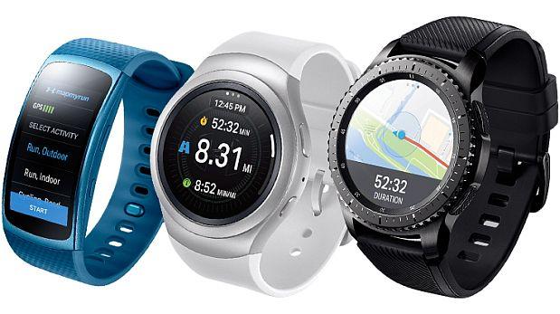 Durante el CES 2017, Samsung informó que los wearables soportarán las aplicaciones fitness de Under Armour. (Foto: Samsung - Difusión)