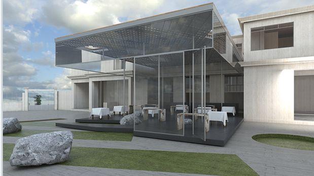 Así se verá el nuevo local del restaurante Central, en la ex Casa Túpac en Barranco.
