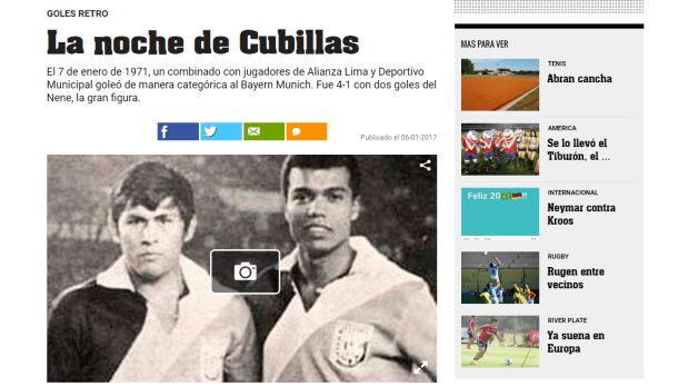 El diario argentino