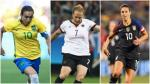 The Best: las favoritas para llevarse el premio de la FIFA - Noticias de melanie pace