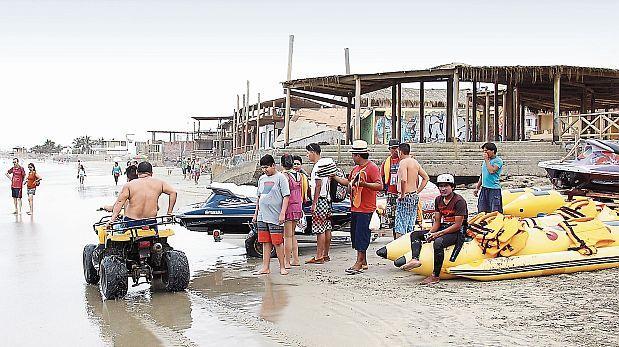 Piura: Máncora se ahoga en el caos