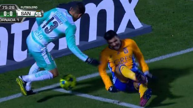 YouTube: jugador de Tigres sufre aterradora lesión en partido