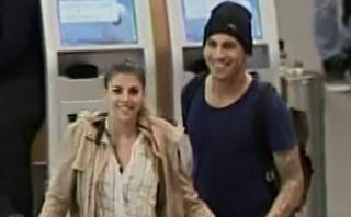 Alondra reapareció tras rumores de separación de Paolo Guerrero