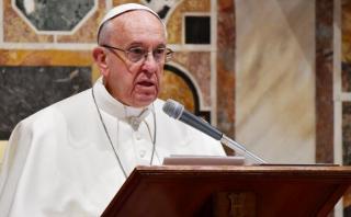 """Francisco condena la """"locura"""" del """"terrorismo fundamentalista"""""""