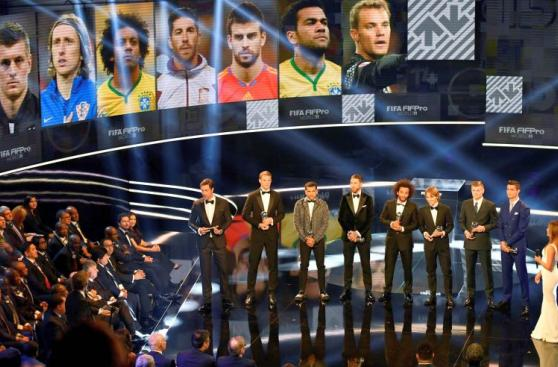 Premios FIFA The Best: este es el once ideal del 2016 [FOTOS]
