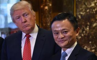 Trump y el jefe de Alibaba, juntos en NY ¿De qué hablaron?