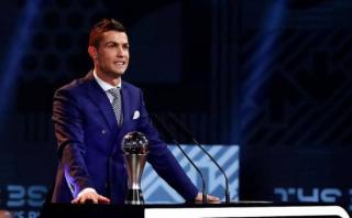 """Cristiano tras ser elegido el mejor de 2016: """"No tenía dudas"""""""